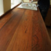 comely bank, kitchen, reclaimed timber—after