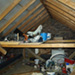 penicuik, attic conversion—before